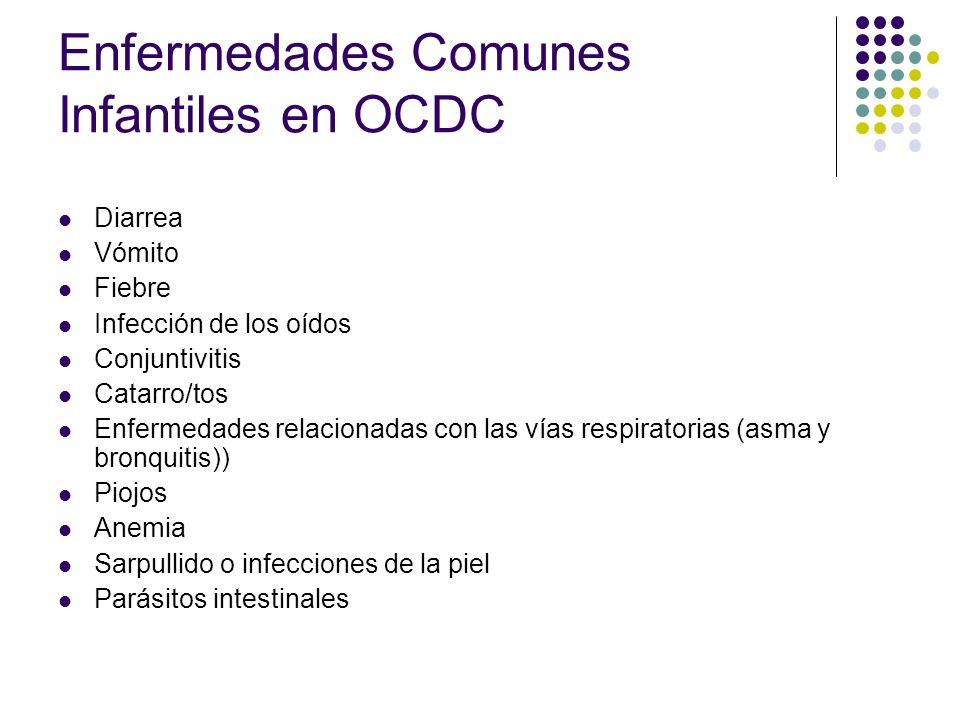 Enfermedades Comunes Infantiles en OCDC