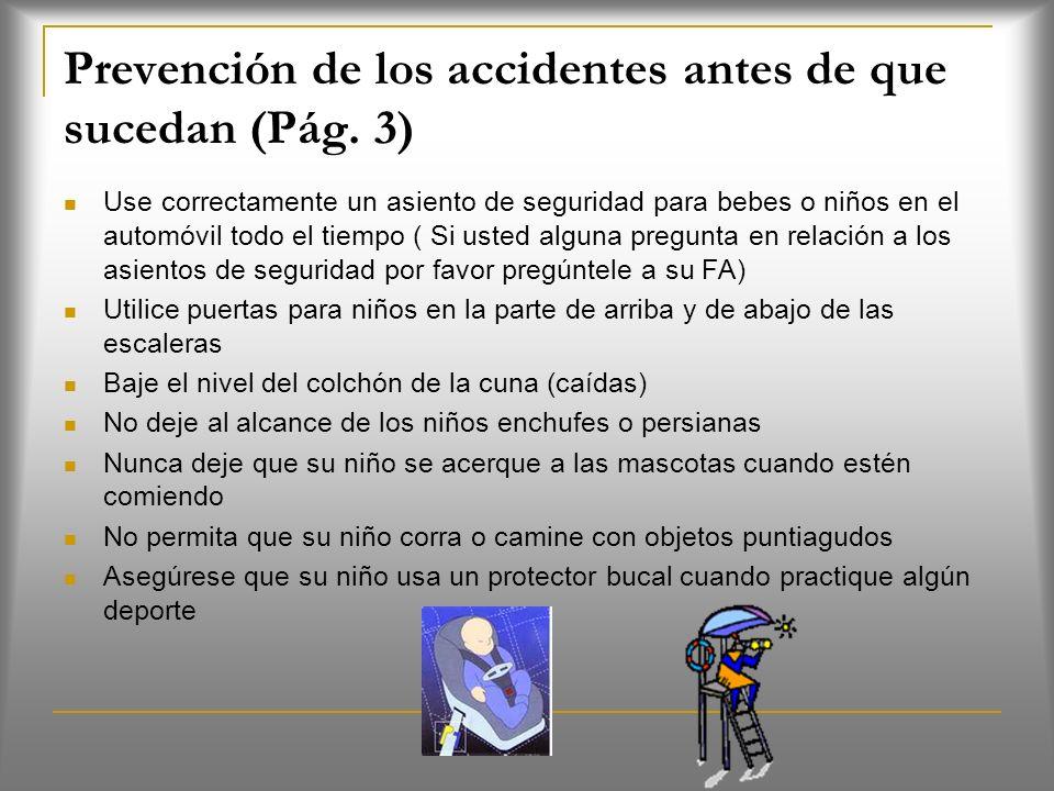 Prevención de los accidentes antes de que sucedan (Pág. 3)