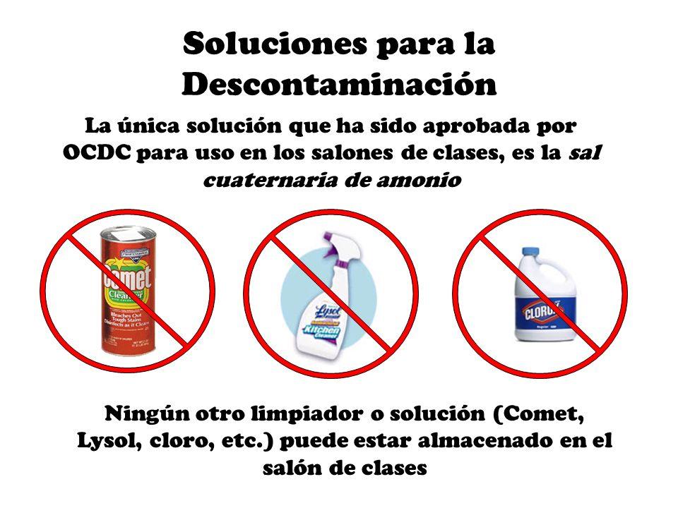Soluciones para la Descontaminación