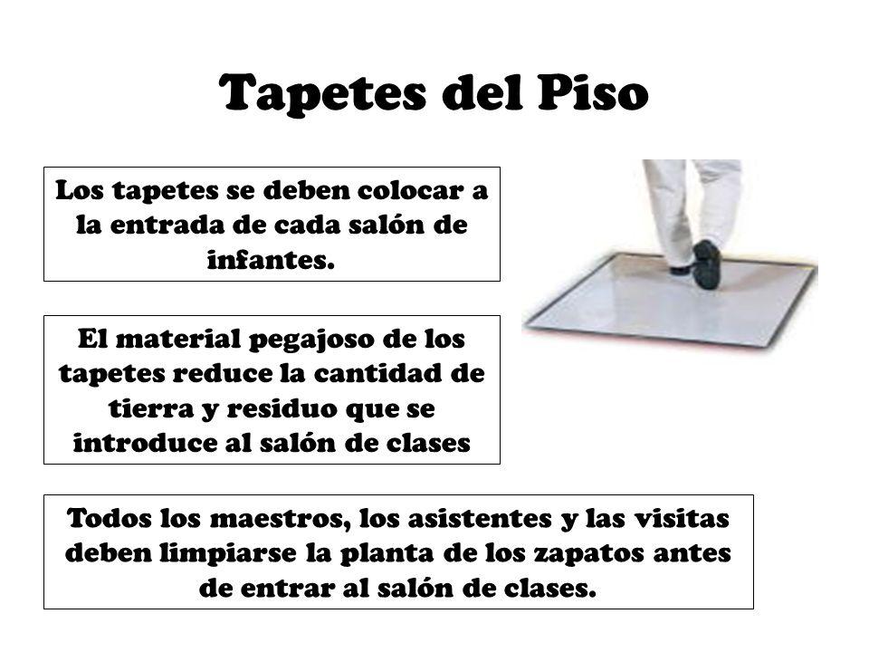 Descontaminaci n del sal n de clases ppt descargar for Clases de tapetes