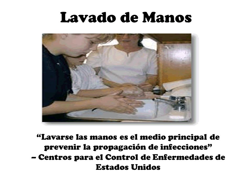 – Centros para el Control de Enfermedades de Estados Unidos