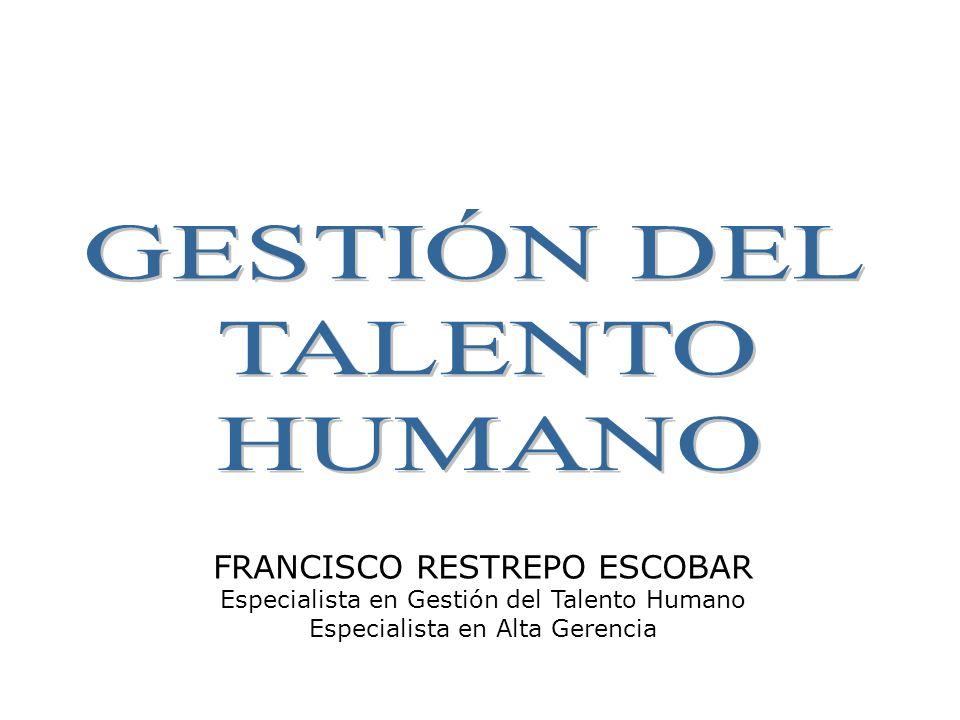 GESTIÓN DEL TALENTO HUMANO FRANCISCO RESTREPO ESCOBAR