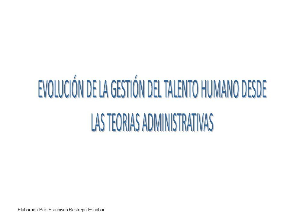 EVOLUCIÓN DE LA GESTIÓN DEL TALENTO HUMANO DESDE