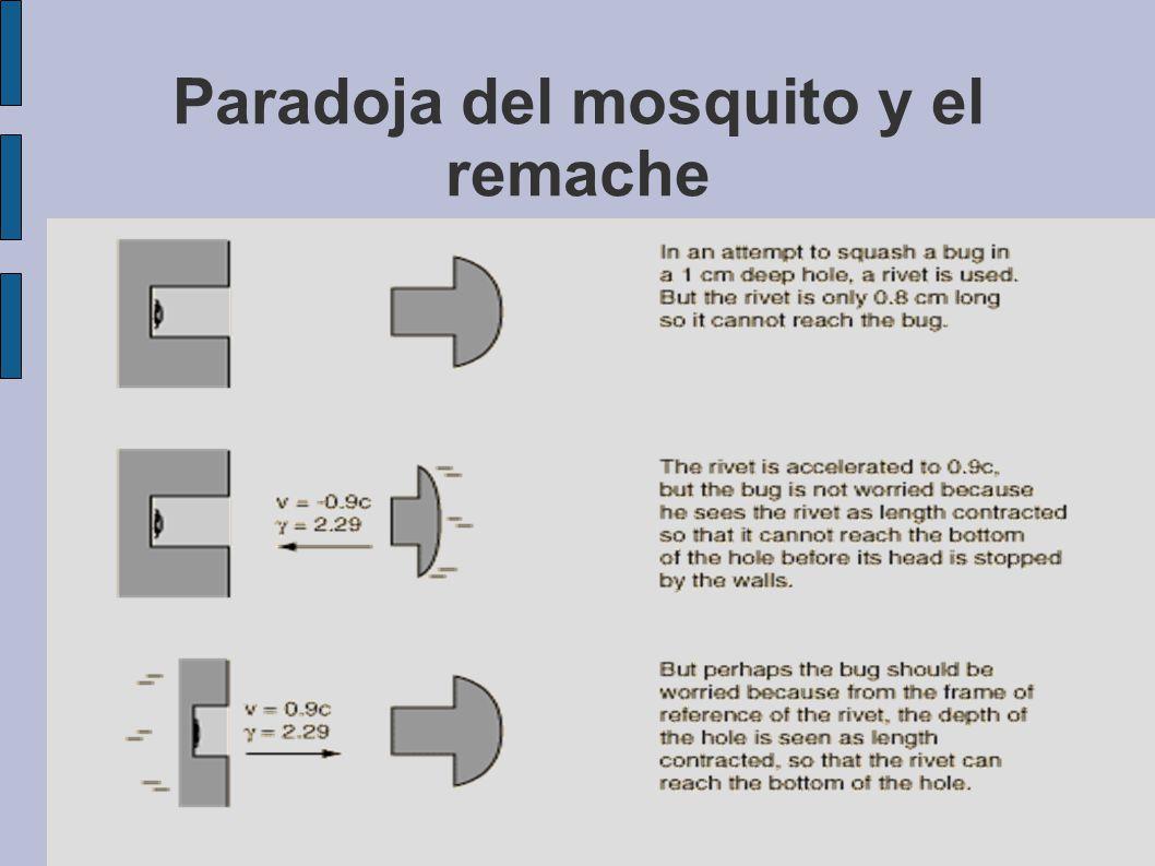 Paradoja del mosquito y el remache