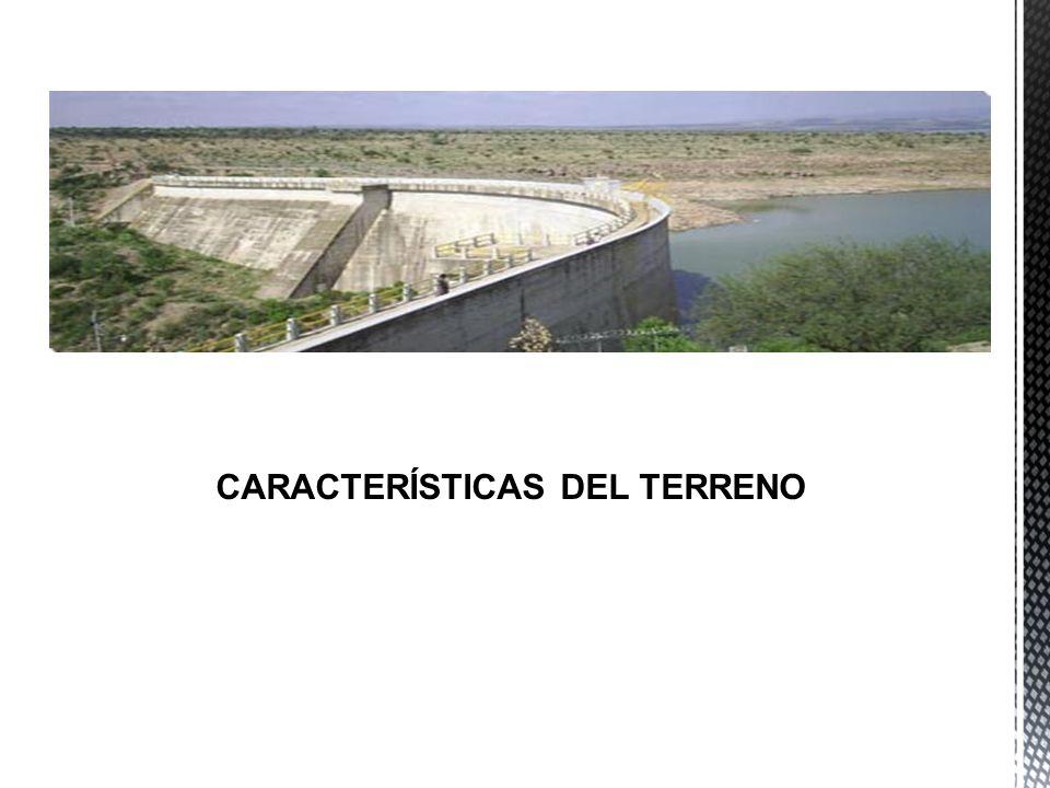 CARACTERÍSTICAS DEL TERRENO