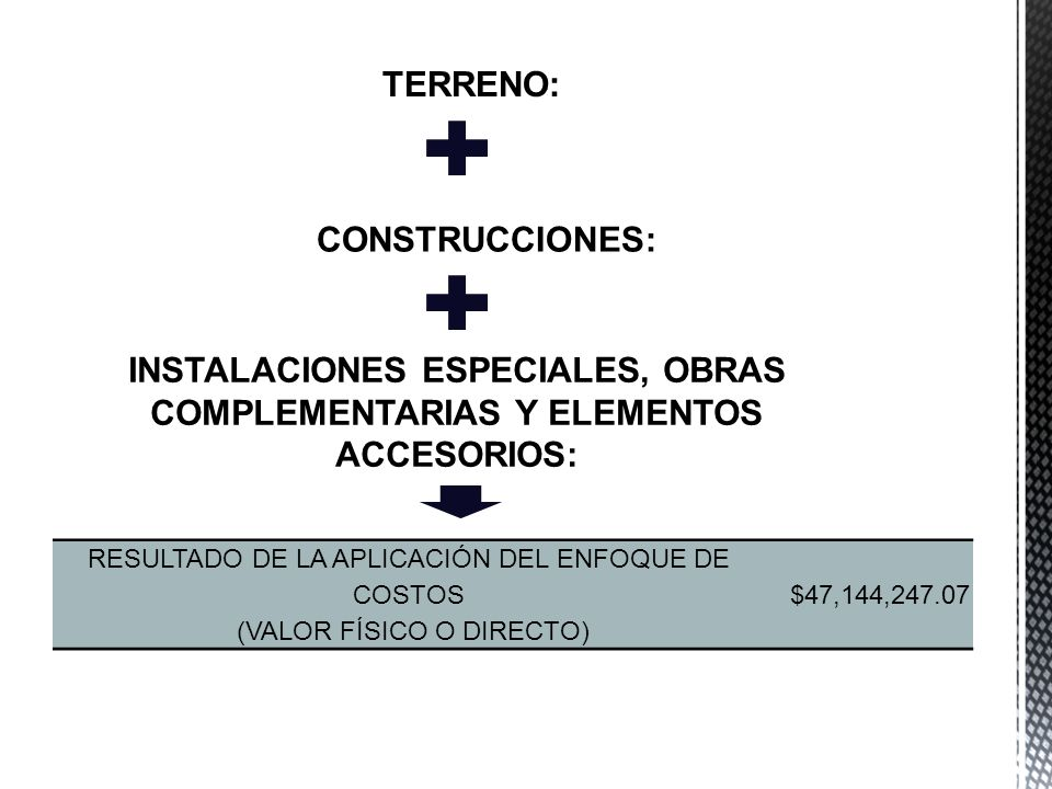 TERRENO: CONSTRUCCIONES: