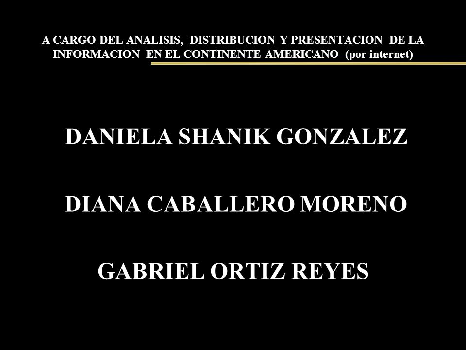 DANIELA SHANIK GONZALEZ DIANA CABALLERO MORENO