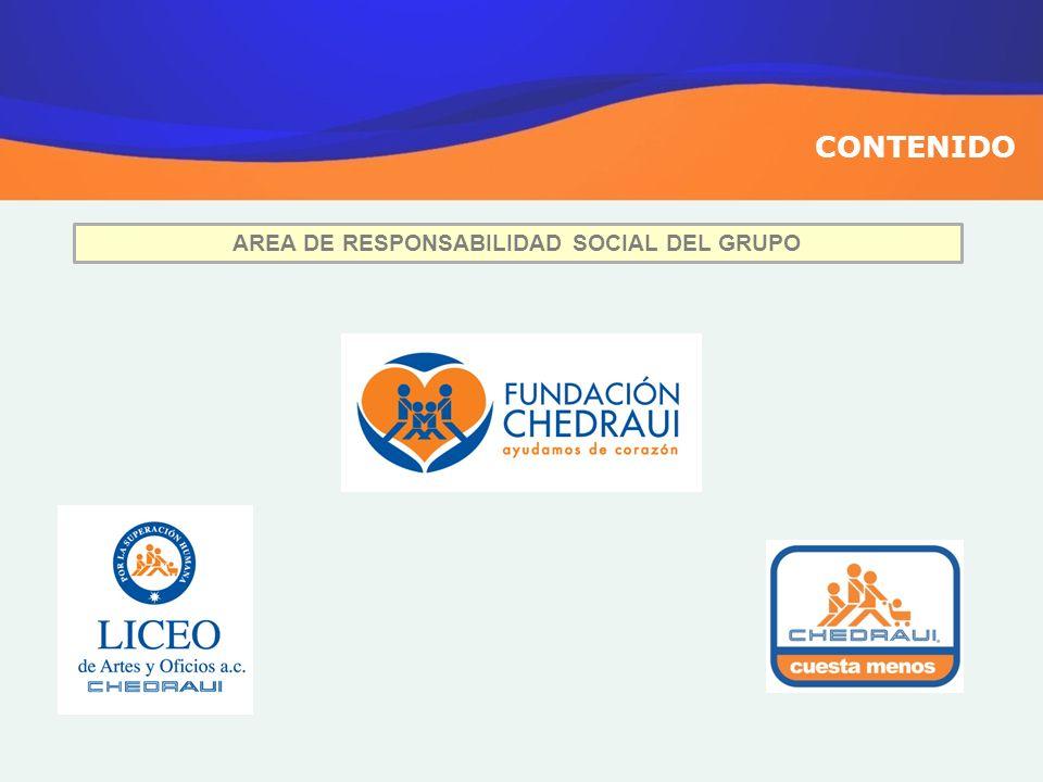 AREA DE RESPONSABILIDAD SOCIAL DEL GRUPO