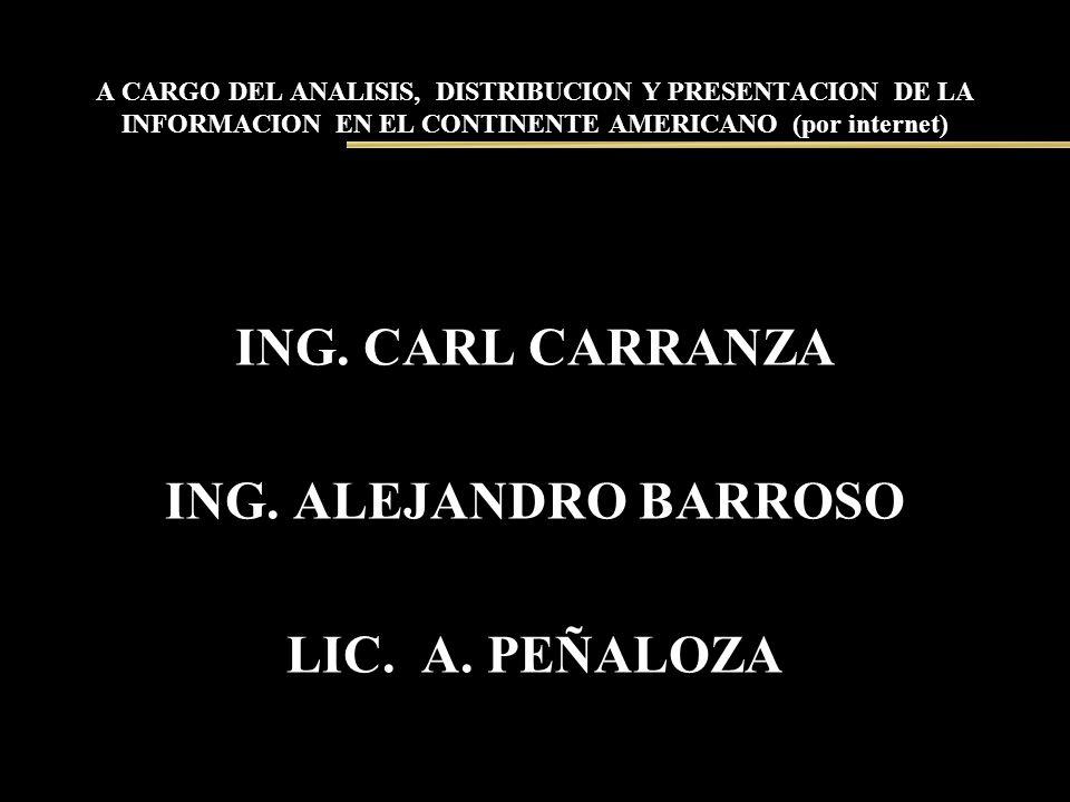ING. CARL CARRANZA ING. ALEJANDRO BARROSO LIC. A. PEÑALOZA