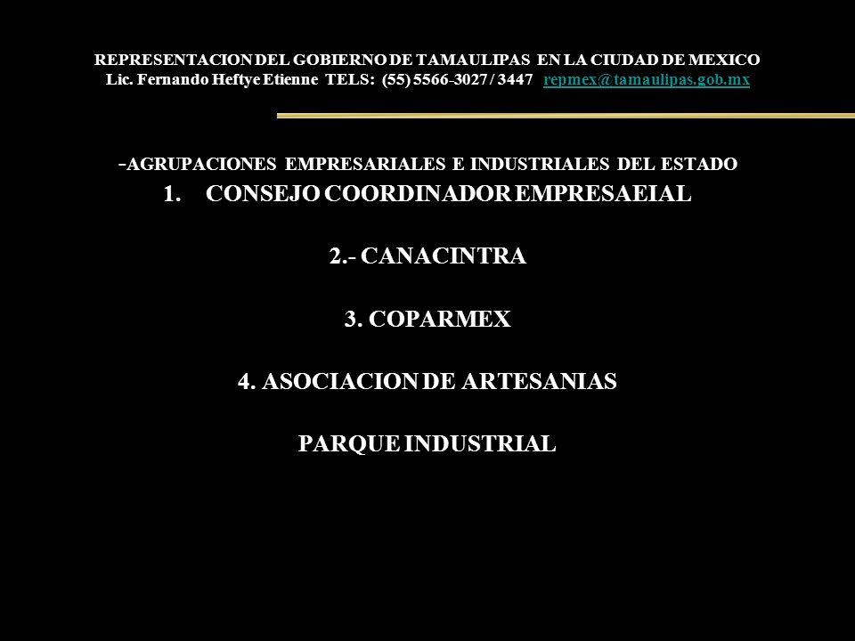 -AGRUPACIONES EMPRESARIALES E INDUSTRIALES DEL ESTADO