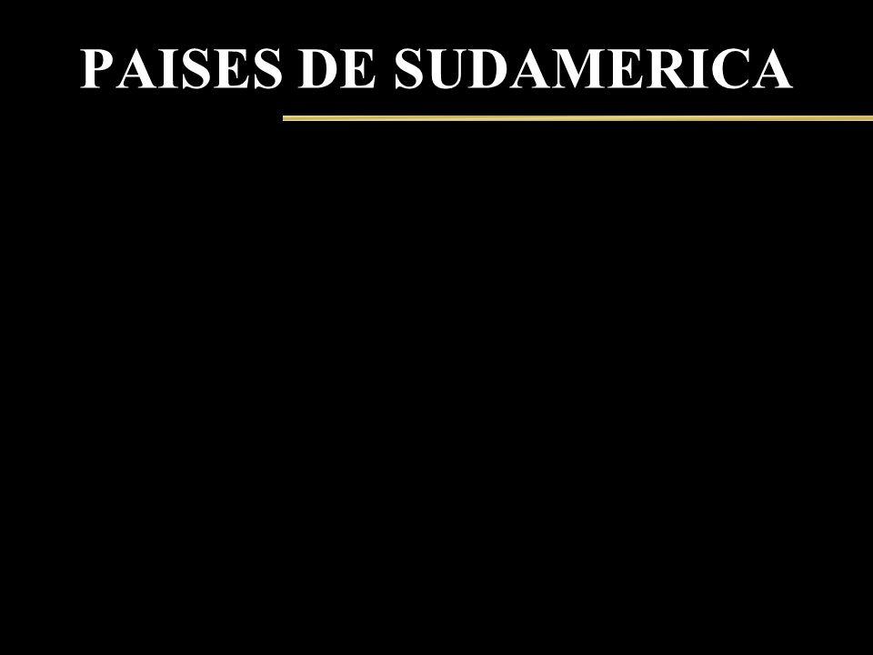 PAISES DE SUDAMERICA