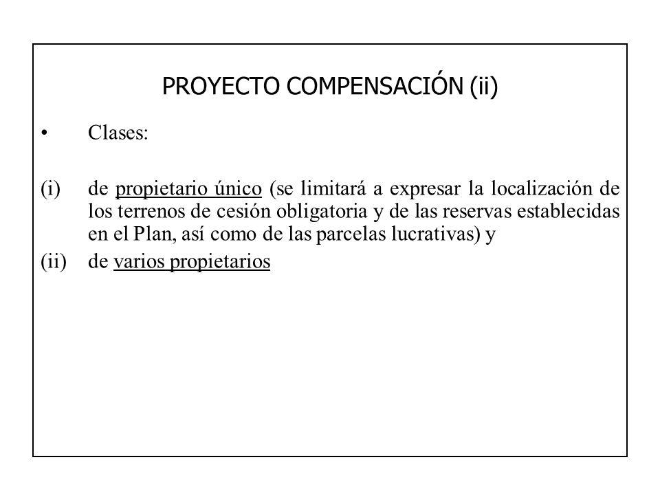 PROYECTO COMPENSACIÓN (ii)