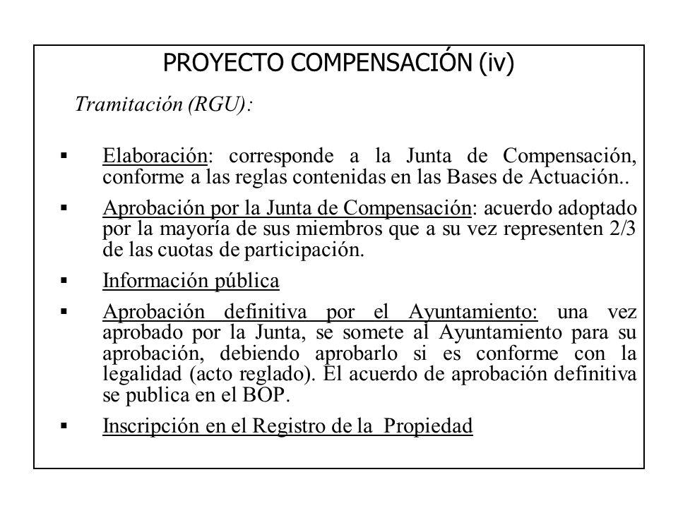 PROYECTO COMPENSACIÓN (iv)