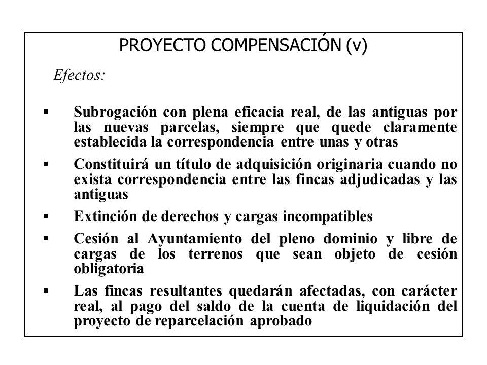 PROYECTO COMPENSACIÓN (v)
