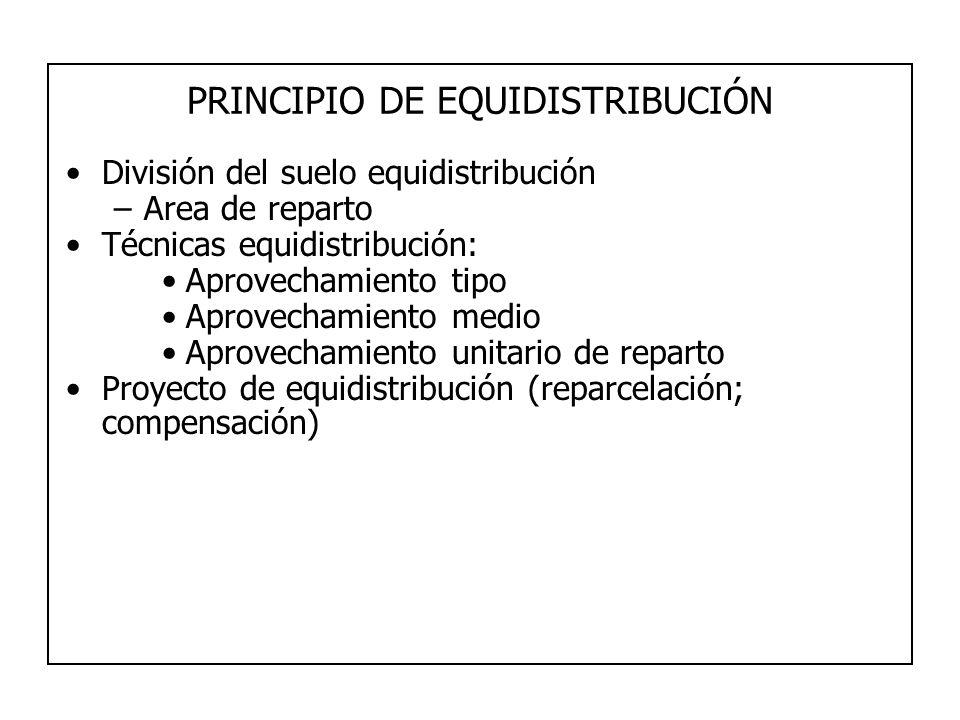 PRINCIPIO DE EQUIDISTRIBUCIÓN
