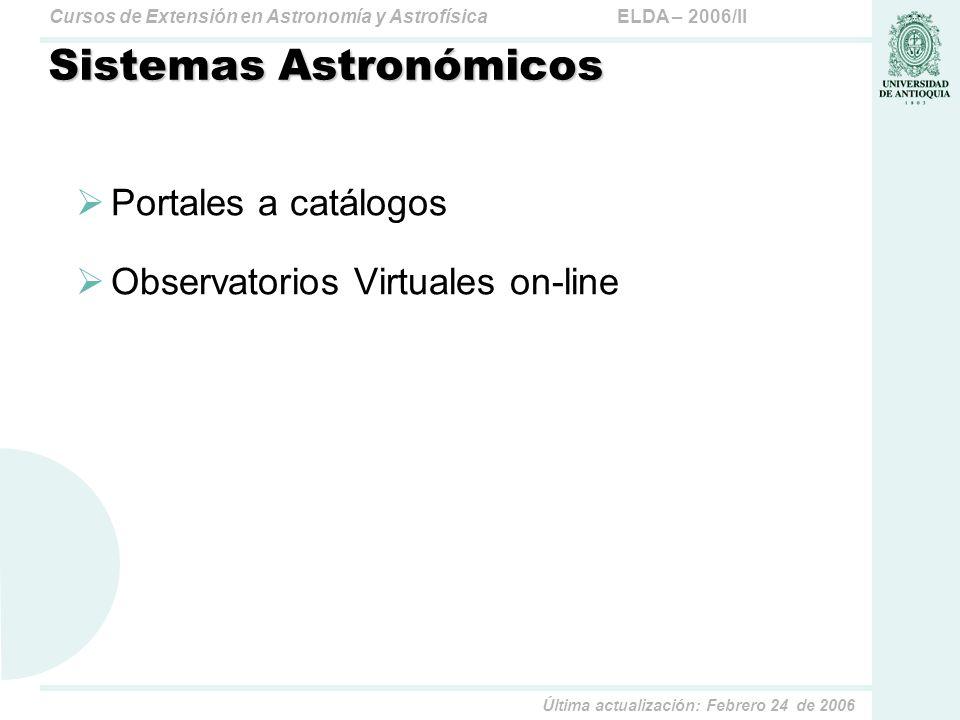 Sistemas Astronómicos