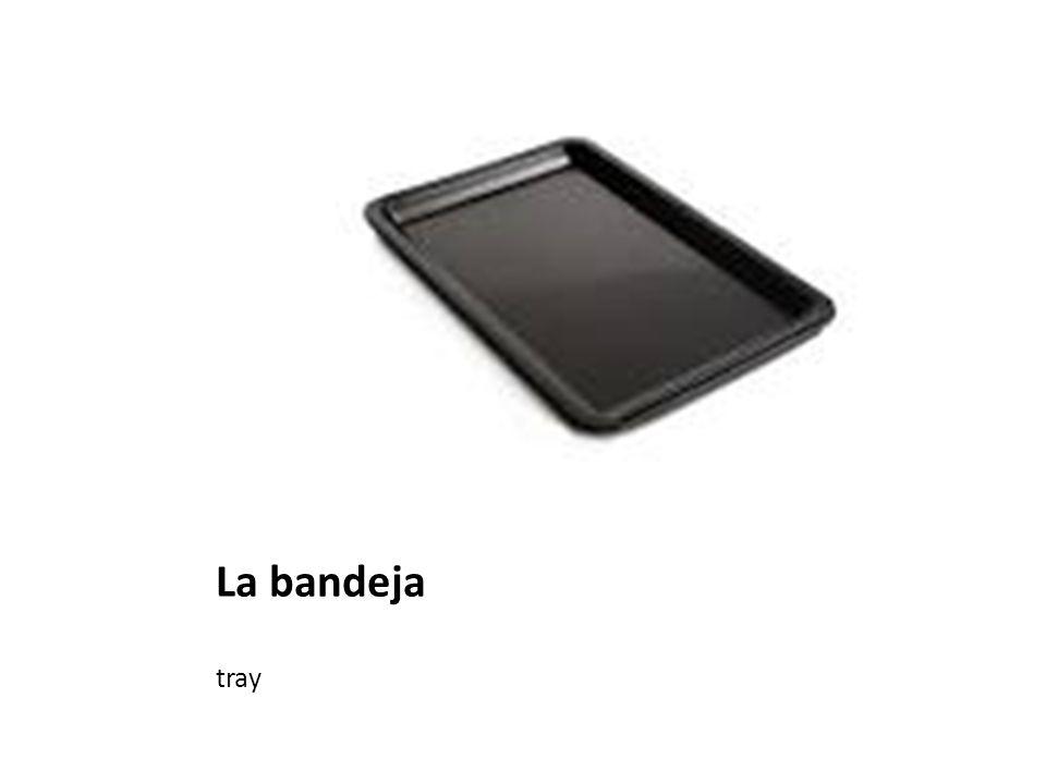La bandeja tray