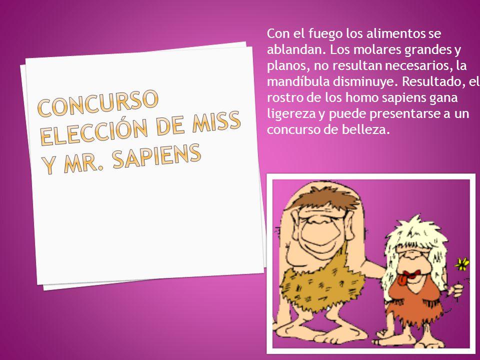 CONCURSO ELECCIÓN DE MISS Y MR. SAPIENS
