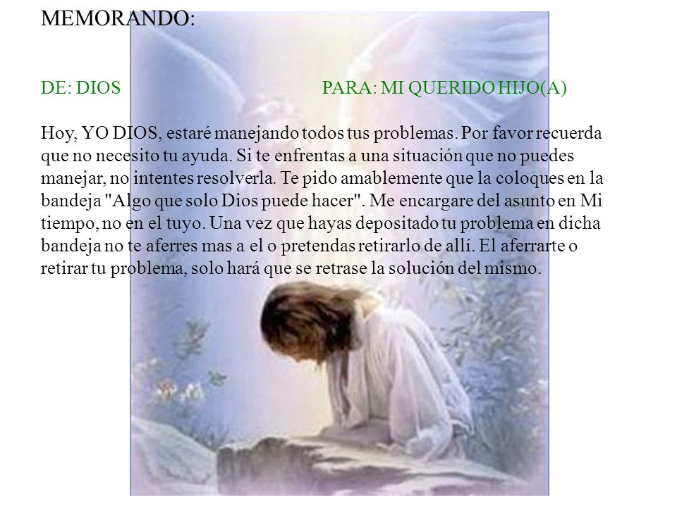 MEMORANDO: