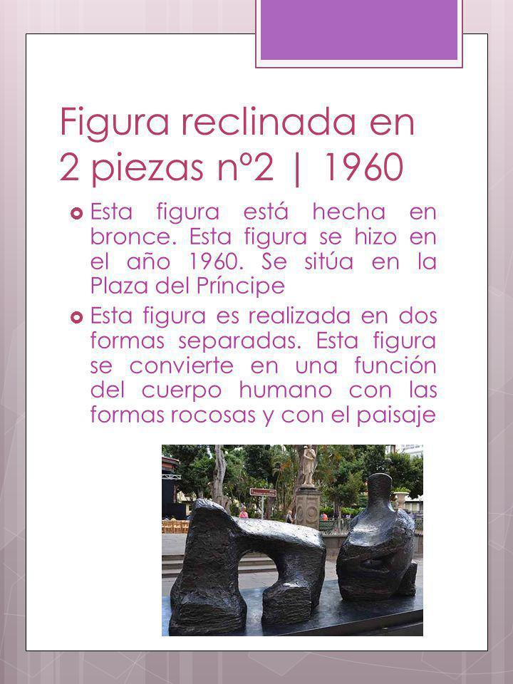 Figura reclinada en 2 piezas nº2 | 1960