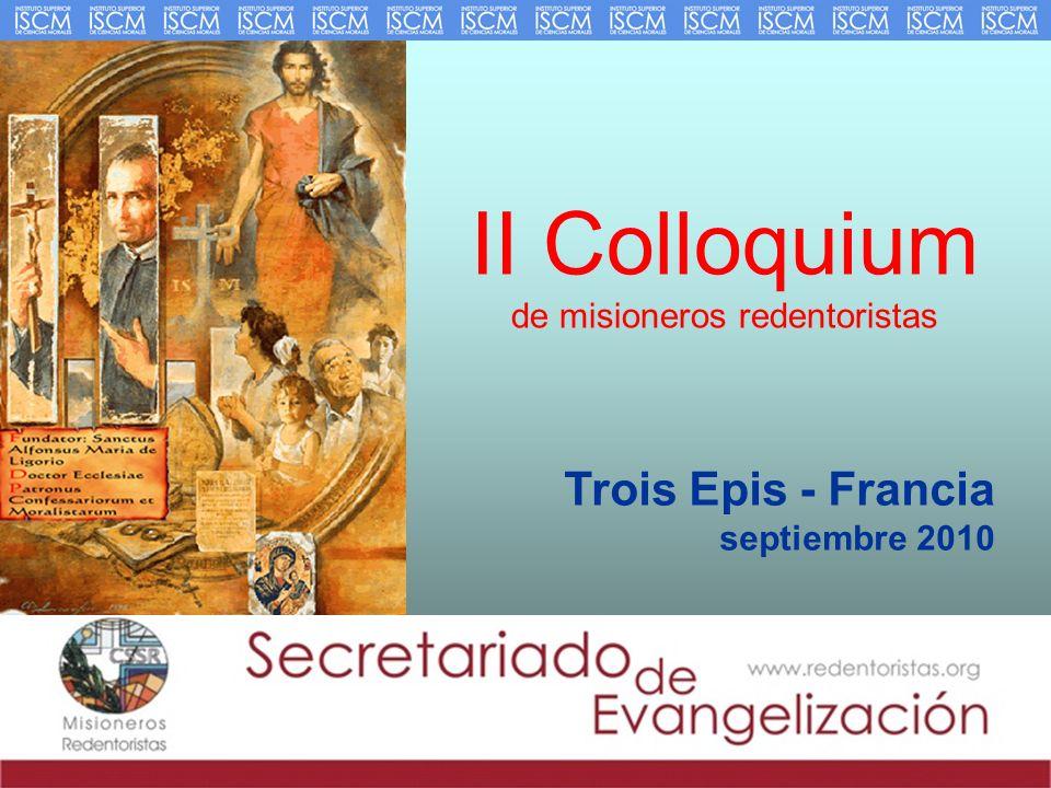 II Colloquium de misioneros redentoristas