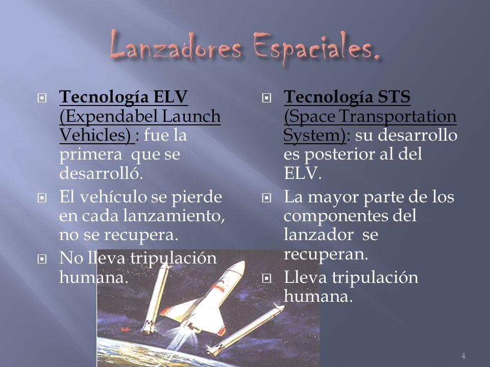 Lanzadores Espaciales.