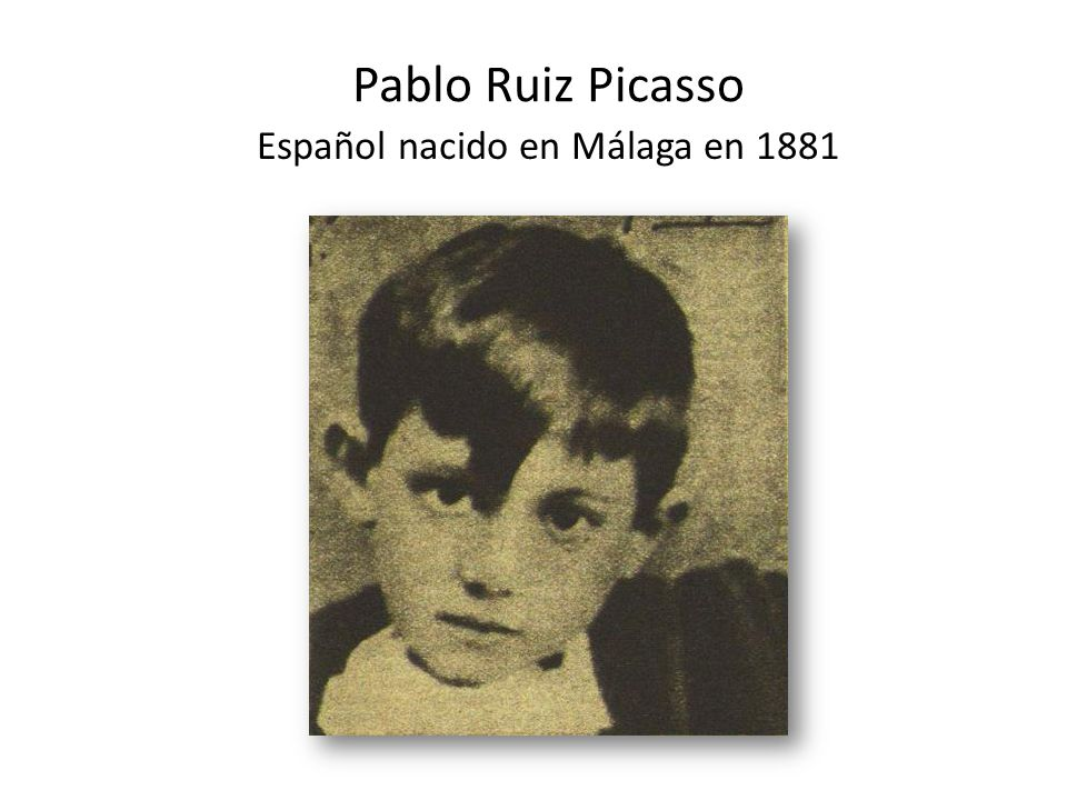 Español nacido en Málaga en 1881