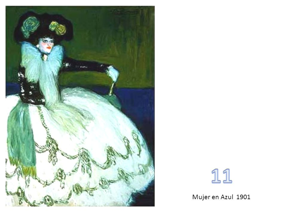 11 Mujer en Azul 1901