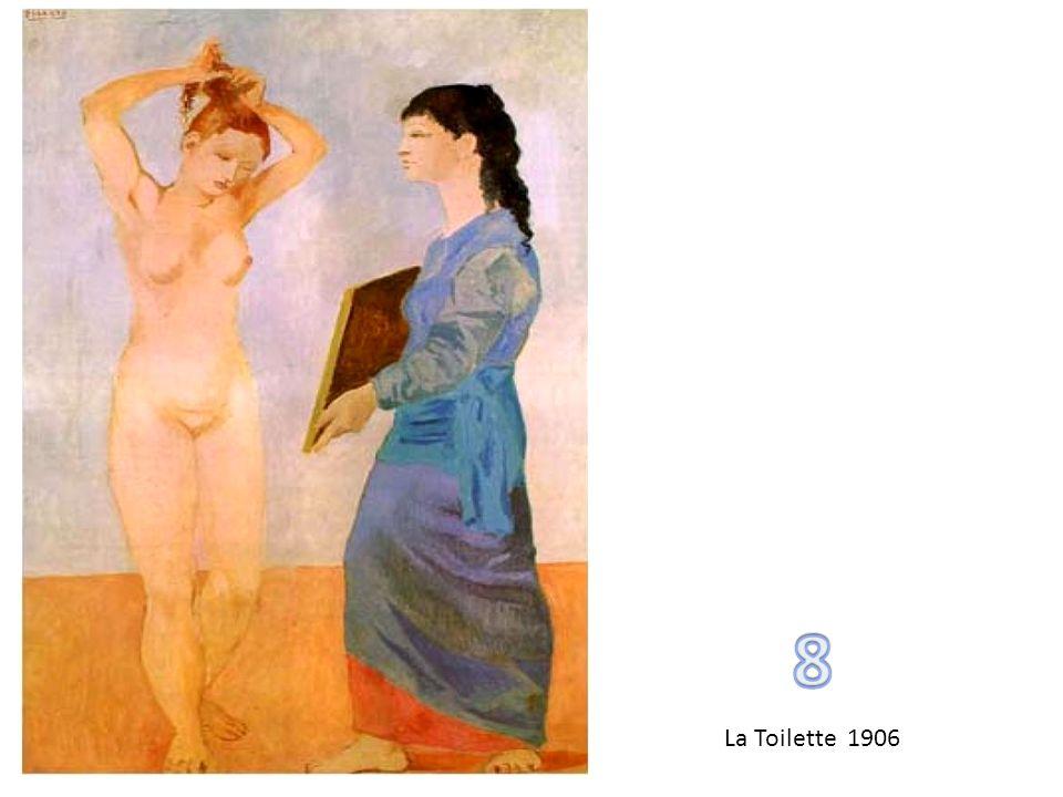 8 La Toilette 1906