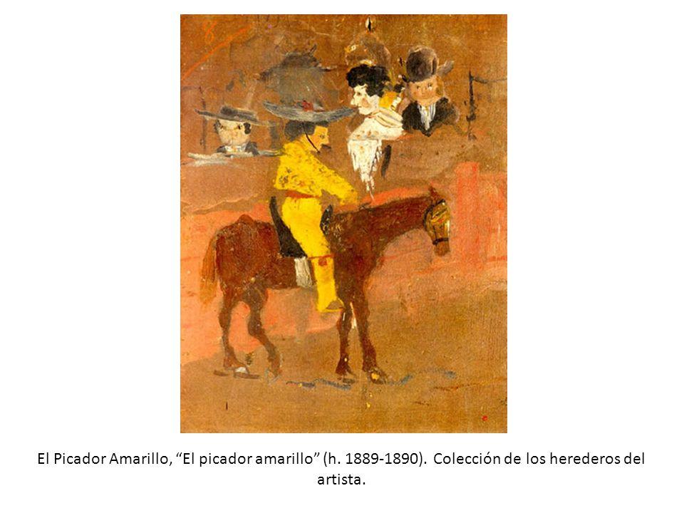 El Picador Amarillo, El picador amarillo (h. 1889-1890)