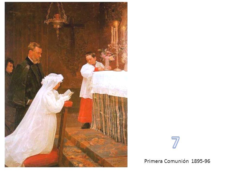 7 Primera Comunión 1895-96