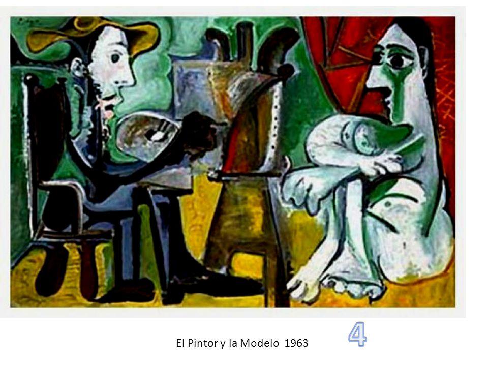 4 El Pintor y la Modelo 1963