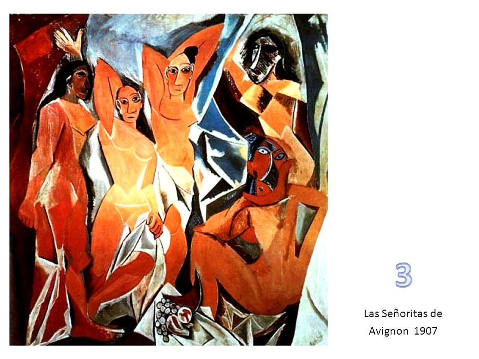 3 Las Señoritas de Avignon 1907