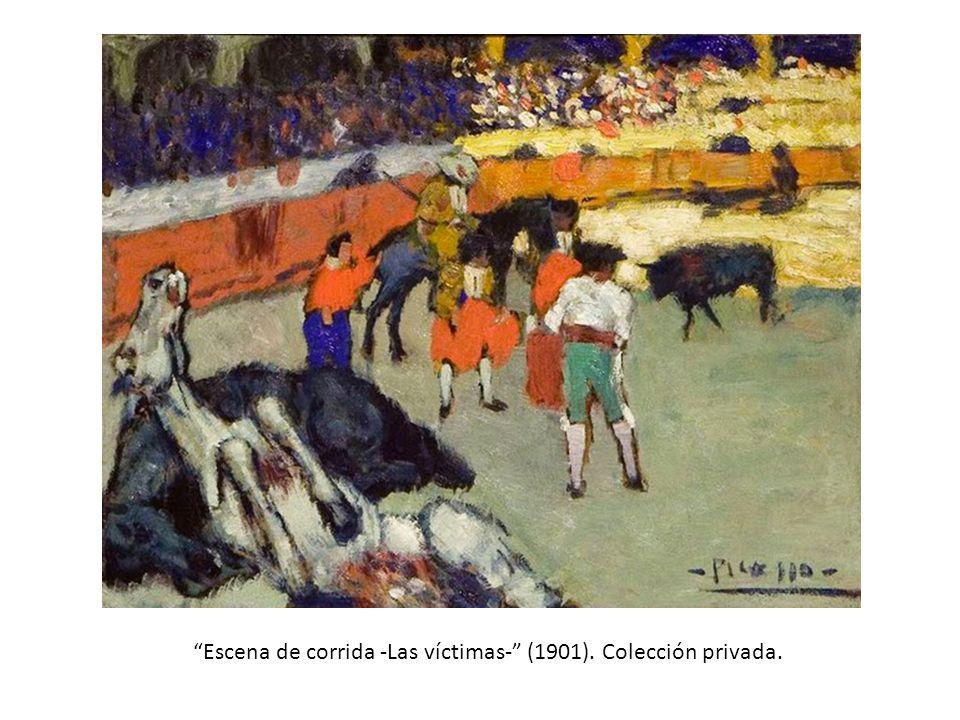 Escena de corrida -Las víctimas- (1901). Colección privada.