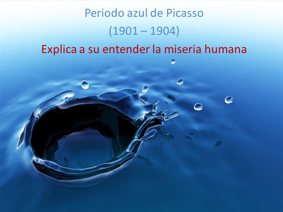 Periodo azul de Picasso (1901 – 1904)