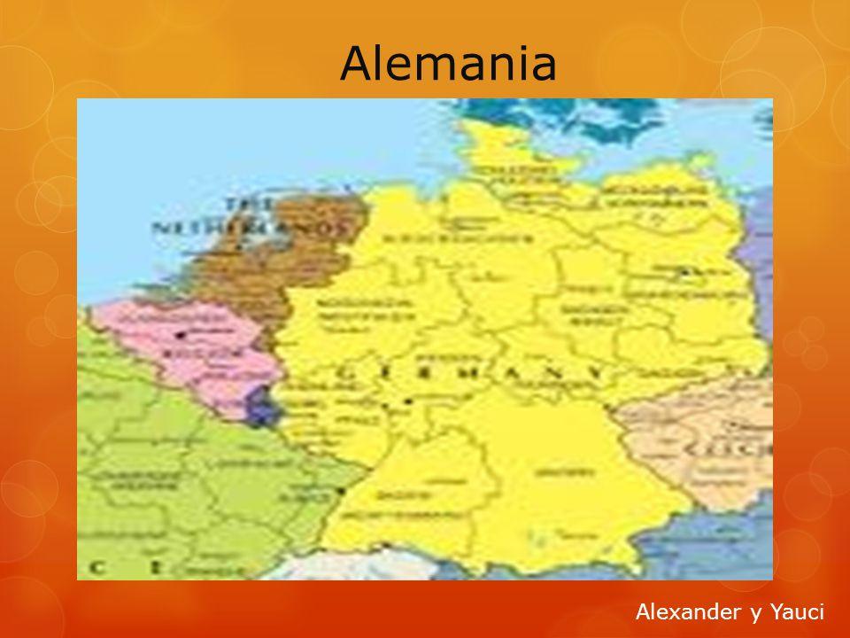 Alemania Alexander y Yauci