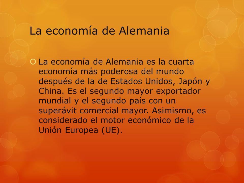 La economía de Alemania