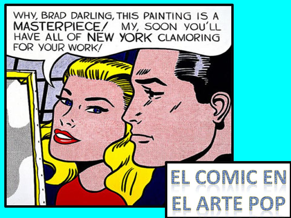 eL comic eN EL arte POP