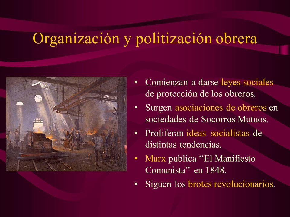Organización y politización obrera