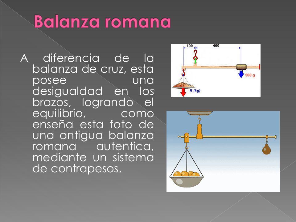 Balanza romana