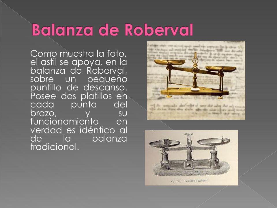 Balanza de Roberval