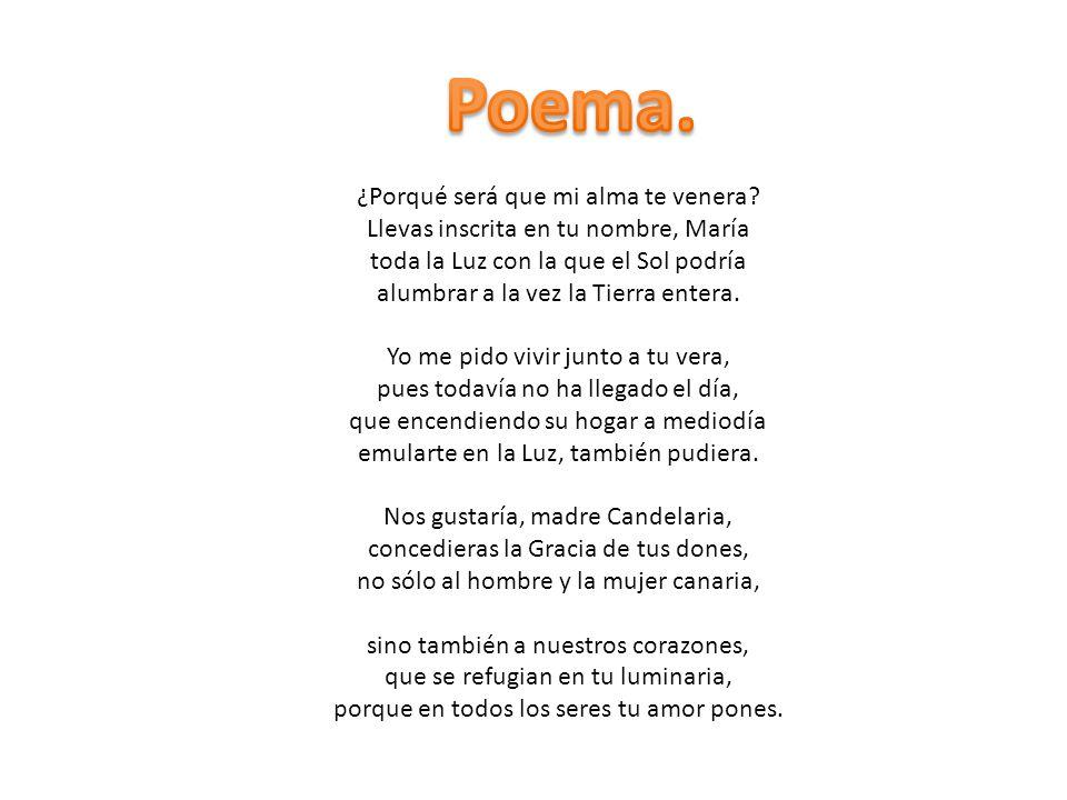 Poema. ¿Porqué será que mi alma te venera