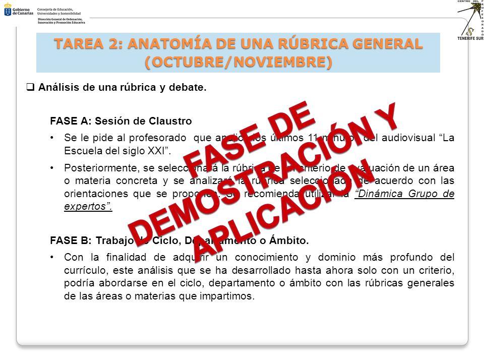 FASE DE DEMOSTRACIÓN Y APLICACIÓN