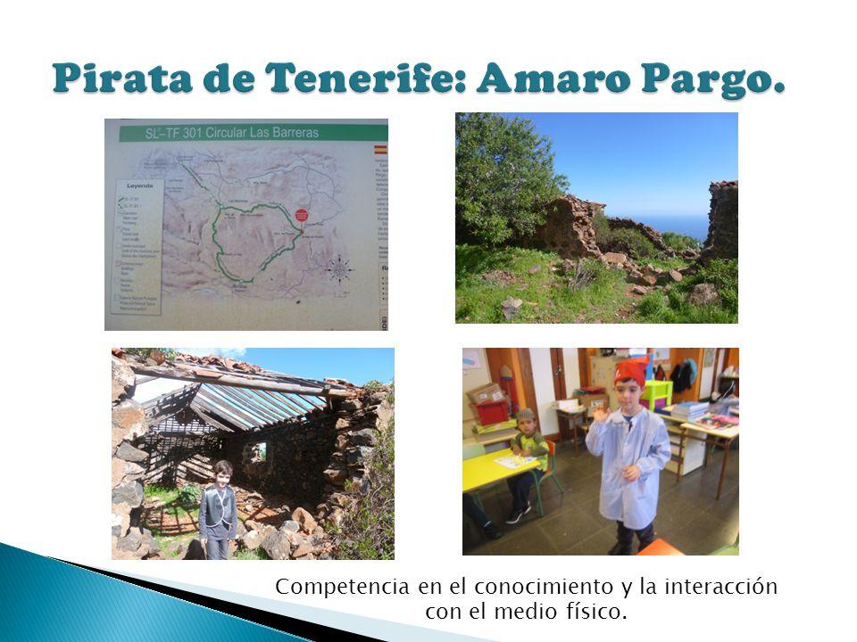 Pirata de Tenerife: Amaro Pargo.
