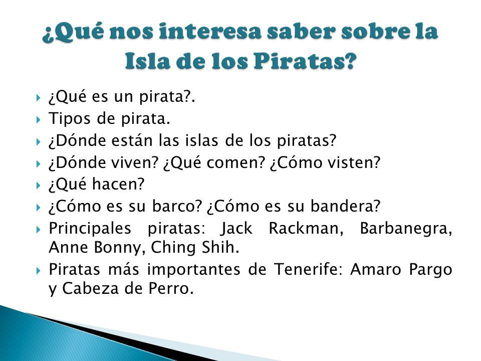 ¿Qué nos interesa saber sobre la Isla de los Piratas