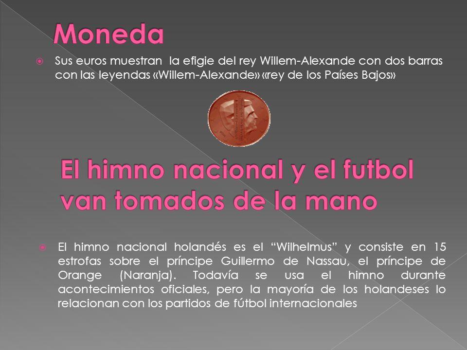 Moneda El himno nacional y el futbol van tomados de la mano