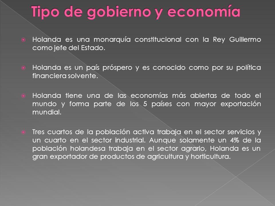 Tipo de gobierno y economía