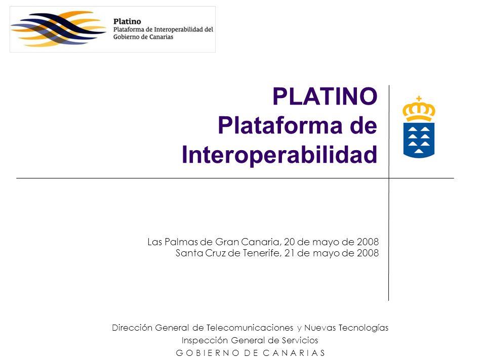 PLATINO Plataforma de Interoperabilidad