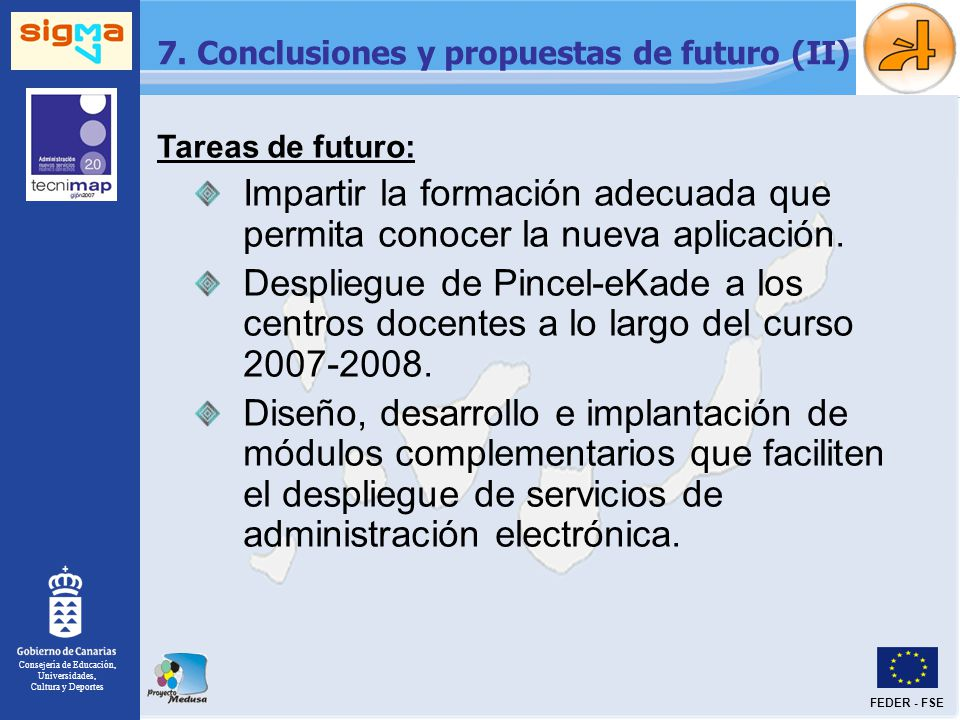 7. Conclusiones y propuestas de futuro (II)