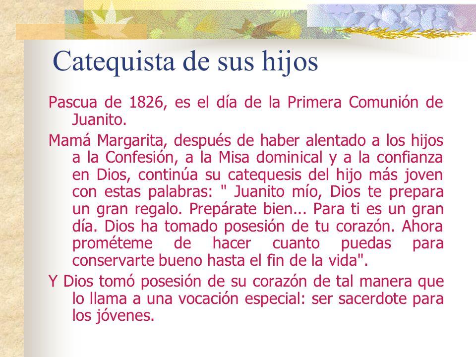 Catequista de sus hijos
